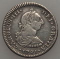 Mexico, Mexico: Pair of silver Colonial Coins,... (Total: 2 coins)