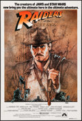 "Movie Posters:Adventure, Raiders of the Lost Ark (Paramount, 1981). Australian One Sheet(27"" X 39.75""). Adventure.. ..."