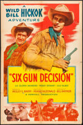 "Movie Posters:Western, Six Gun Decision (Allied Artists, 1953). One Sheet (27"" X 41"") & Lobby Cards (6) (11"" X 14""). Western.. ... (Total: 7 Items)"