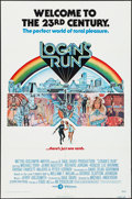 """Movie Posters:Science Fiction, Logan's Run (MGM, 1976). One Sheet (27"""" X 41"""") & UncutPressbook (8 Pages, 11"""" X 17""""). Science Fiction.. ... (Total: 2Items)"""