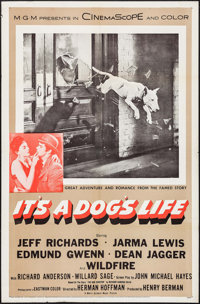 "It's a Dog's Life (MGM, 1955). One Sheet (27"" X 41""). Comedy"