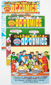 Amazing World of DC Comics Group of 4 (DC, 1974-77) Condition: Average NM-.... (Total: 4 Comic Books)