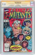 Modern Age (1980-Present):Superhero, The New Mutants #87 Signature Series (Marvel, 1990) CGC NM/MT 9.8White pages....