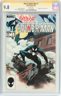Modern Age (1980-Present):Superhero, Web of Spider-Man #1 Signature Series (Marvel, 1985) CGC NM/MT 9.8White pages....