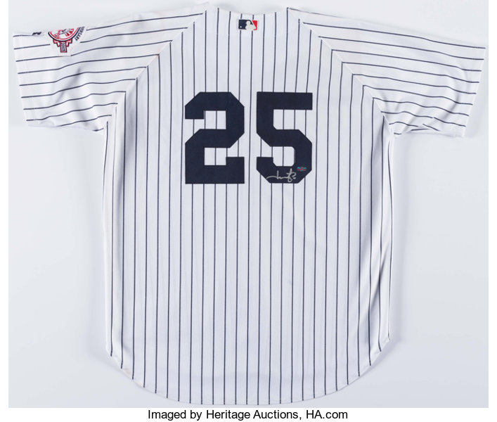 Jason Giambi Signed New York Yankees Jersey. ... Autographs Letters ... df1c64ea36f