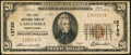 National Bank Notes:Pennsylvania, Cassandra, PA - $20 1929 Ty. 1 The First NB Ch. # 12720. ...