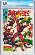 Silver Age (1956-1969):Superhero, The Avengers #55 (Marvel, 1968) CGC NM/MT 9.8 White pages....