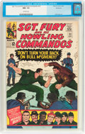 Silver Age (1956-1969):War, Sgt. Fury and His Howling Commandos #22 Northland Pedigree (Marvel, 1965) CGC NM+ 9.6 Off-white pages....