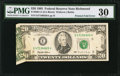 Error Notes:Foldovers, Fr. 2081-E $20 1995 Federal Reserve Note. PMG Very Fine 30.. ...