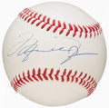 Autographs:Baseballs, Michael Jordan Single Signed Baseball. ...