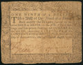 Colonial Notes, Maryland August 14, 1776 $1/9 Fine.. ...