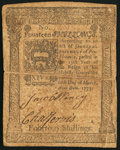 Colonial Notes, Pennsylvania March 20, 1773 14s Very Fine....