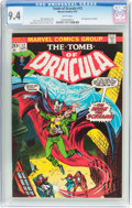 Bronze Age (1970-1979):Horror, Tomb of Dracula #12 (Marvel, 1973) CGC NM 9.4 White pages....