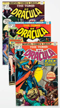 Bronze Age (1970-1979):Horror, Tomb of Dracula Group of 20 (Marvel, 1974-77) Condition: AverageFN/VF.... (Total: 20 Comic Books)