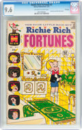 Bronze Age (1970-1979):Cartoon Character, Richie Rich Fortunes #3 File Copy (Harvey, 1972) CGC NM+ 9.6Off-white to white pages....