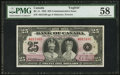 Canadian Currency: , BC-11 $25 1935.. ...