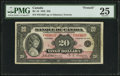 Canadian Currency: , BC-10 $20 1935.. ...