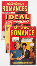 Golden Age (1938-1955):Miscellaneous, Timely Romance Group of 8 (Timely, 1950s) Condition: Average GD+.... (Total: 8 Comic Books)