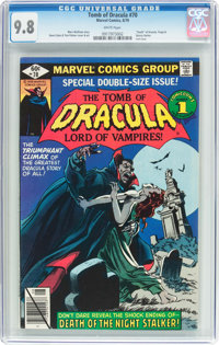 Tomb of Dracula #70 (Marvel, 1979) CGC NM/MT 9.8 White pages