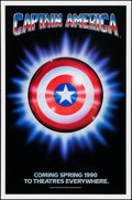 "Movie Posters:Action, Captain America & Other Lot (Columbia/Tristar, 1991). OneSheets (2) (26.75"" X 39.75"" & 27"" X 41"") Advance. Action.. ...(Total: 2 Items)"