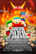 """Movie Posters:Animation, South Park: Bigger Longer & Uncut & Others Lot (Paramount,1999). One Sheets (3) (27"""" X 40"""" & 27"""" X 41"""") SS Advance.Animati... (Total: 3 Items)"""