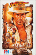 "Movie Posters:Action, Indiana Jones and the Last Crusade (Paramount, 1989). PepsiPromotional Poster (23"" X 35""). Action.. ..."