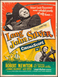 "Movie Posters:Adventure, Long John Silver (20th Century Fox, 1953). Poster (30"" X 40"").Adventure.. ..."