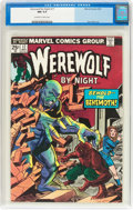 Bronze Age (1970-1979):Horror, Werewolf by Night #17 (Marvel, 1974) CGC NM 9.4 Off-white to whitepages....