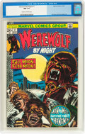 Bronze Age (1970-1979):Horror, Werewolf by Night #11 (Marvel, 1973) CGC NM 9.4 Cream to off-whitepages....