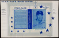 Autographs:Letters, 1960 Star-Jack Book Cover Poster Signed by Mickey Mantle. ...