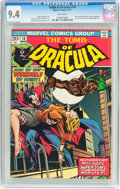 Bronze Age (1970-1979):Horror, Tomb of Dracula #18 (Marvel, 1974) CGC NM 9.4 White pages....