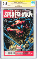 Modern Age (1980-Present):Superhero, Superior Spider-Man #1 Signature Series (Marvel, 2013) CGC NM/MT9.8 White pages....