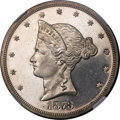 Patterns, 1873 T$1 Trade Dollar, Judd-1276, Pollock-1418, R.5, PR63 Cameo NGC. CAC....