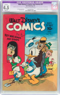 Golden Age (1938-1955):Cartoon Character, Walt Disney's Comics and Stories #31 (Dell, 1943) CGC Apparent VG+4.5 Slight (A) Cream to off-white pages....