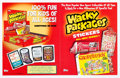Memorabilia:Trading Cards, Wacky Packages All-New Series 1 Promotional Materials Group of 2(Topps, 2004).... (Total: 2 Items)