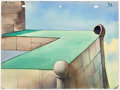 Animation Art:Painted cel background, The Crackpot King Mighty Mouse Painted Background Group of 2(Terrytoons, 1946).. ... (Total: 2 Original Art)