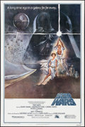 "Movie Posters:Science Fiction, Star Wars (20th Century Fox, 1977). Fourth Printing One Sheet (27""X 41""). Science Fiction.. ..."