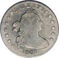 Early Dimes: , 1801 10C JR-1, R.4.--Environmental Damage--NCS. VF Details.Gunmetal gray surfaces exhibit intermingled pale blue and viole...