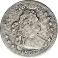 Early Dimes: , 1807 10C JR-1, R.2. Reiver state a.--Environmental Damage--NCS. VFDetails. The obverse and reverse show extensive and unif...
