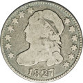 Bust Dimes: , 1827 10C JR-2, R.5. Reiver state a.--Reverse Scratched--NCS. GoodDetails. Light silver on the devices, medium gray in the ...