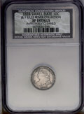 Bust Dimes: , 1828 10C Small Date JR-1, R.2. Reiver state a.--ImproperlyCleaned--NCS. XF Details. The surfaces of this coin have been cl...