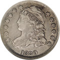 Bust Dimes: , 1830 10C Medium 10C JR-6, R.2. Reiver state b. XF40 NGC.Silvery-gray toning and attractive. The obverse die crack through...