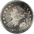 Bust Dimes: , 1831 10C JR-5, R.1. Reiver state e.--Environmental Damage--NCS. VF Details. Both the obverse and reverse show areas of corr...