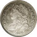 Bust Dimes: , 1833 10C JR-4, R.1. Reiver state d. VF30 NGC. Dark gray with hints of gold and attractive for the grade, with no significan...