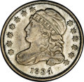 Bust Dimes: , 1834 10C Large 4 JR-6, R.2. Reiver state b.--ImproperlyCleaned--NCS. XF Details. The surfaces have been cleaned to anunna...