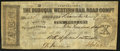 Obsoletes By State:Iowa, Dubuque, IA- Dubuque Western Rail Road Compy $10 Post Note Dec. 12,1857. ...
