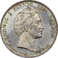 """German States:Bavaria, German States: Bavaria. Ludwig I """"Monument"""" Taler 1834 MS66+NGC,..."""