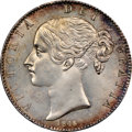 Great Britain, Great Britain: Victoria Crown 1845 MS65 NGC,...