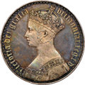 "Great Britain, Great Britain: Victoria Proof ""Gothic"" Crown 1847 PR65 NGC,..."