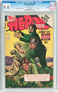 Heroic Comics #84 File Copy (Eastern Color, 1953) CGC NM 9.4 Off-white pages
